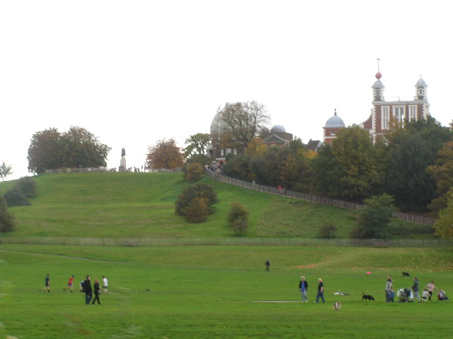Greenwich Observatory from the Maritime Museum