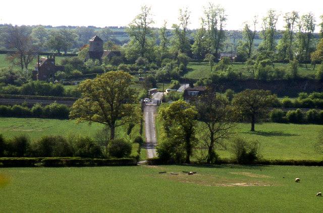 Oddingley.  Level Crossing & canal bridge