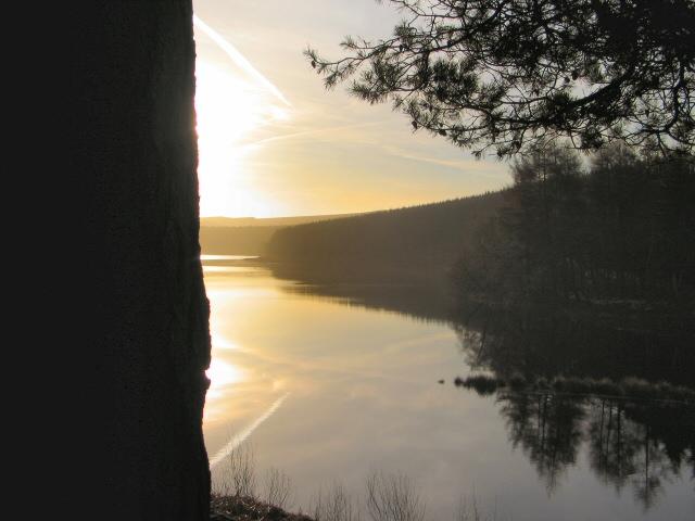 Sunrise over Langsett