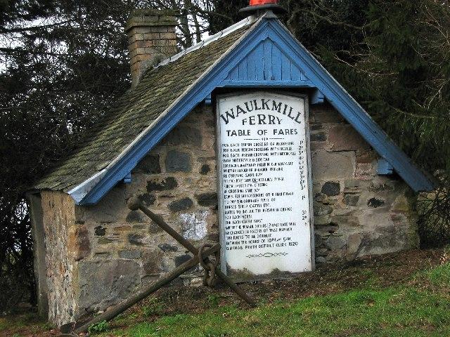 Ferryman's Bothy, Waulkmill