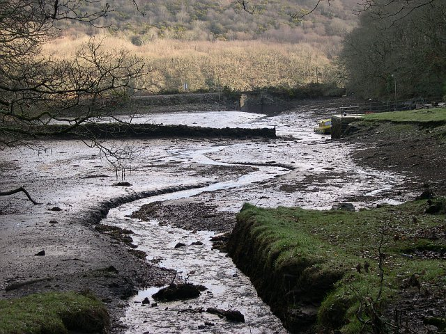 Bodmin Pill, A Muddy Creek