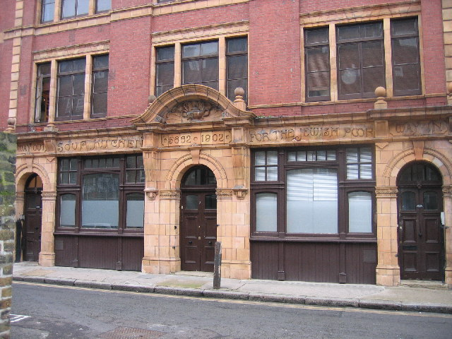 Soup Kitchen for the Jewish Poor, Brune Street, E1