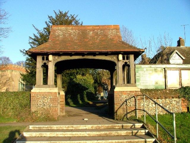Lytch Gate, St Nicholas' Church Stevenage.