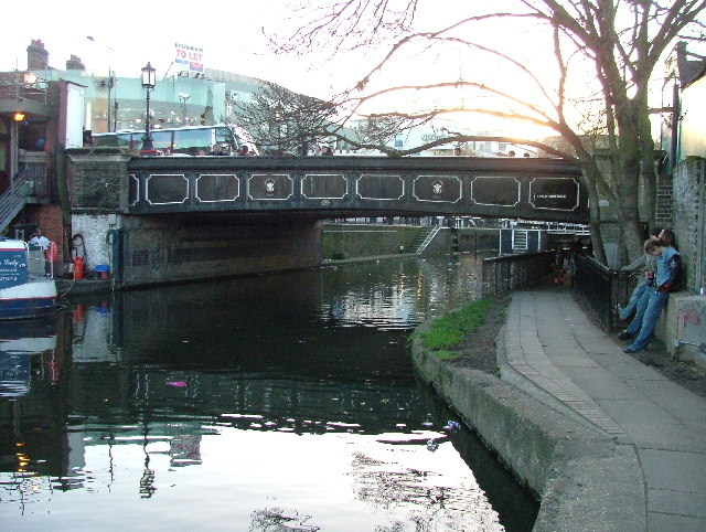 Chalk Farm Road Bridge over Regent's Canal