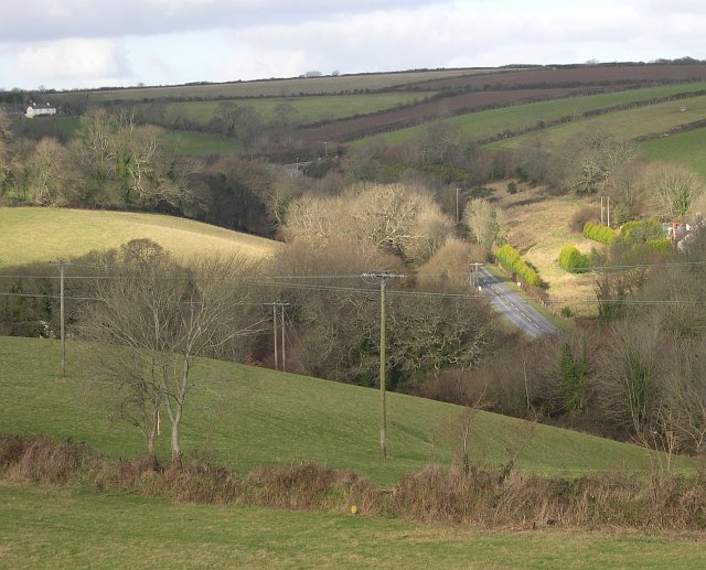 Valley north of Fowey