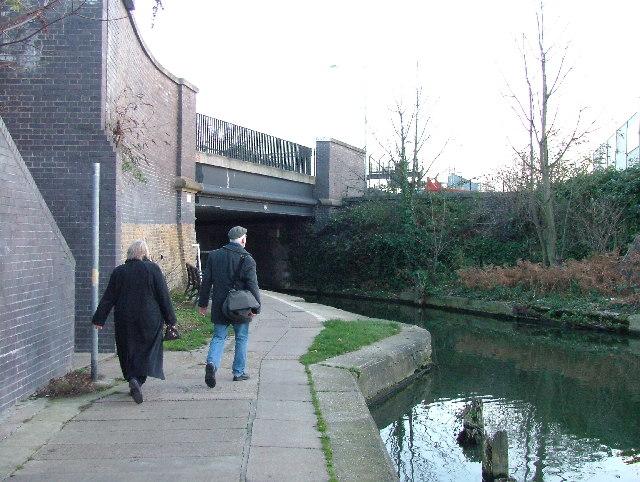 Camley Street bridge over Regent's Canal.