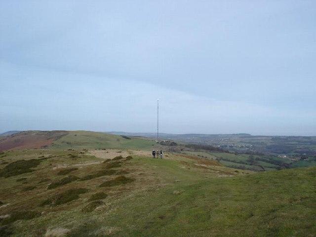 Offa's Dyke Footpath - Penycloddiau viewpoint