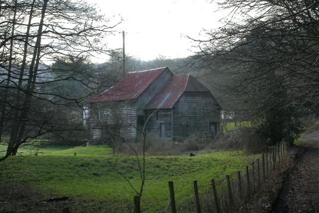 Barn near Bedford farm