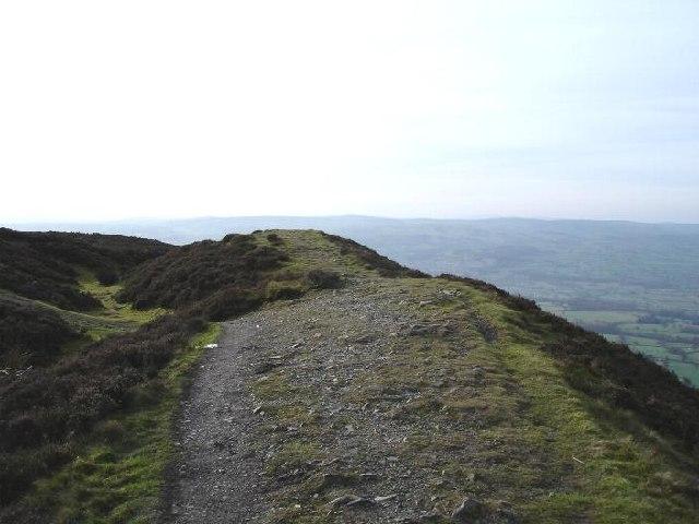 Penycloddiau hill fort