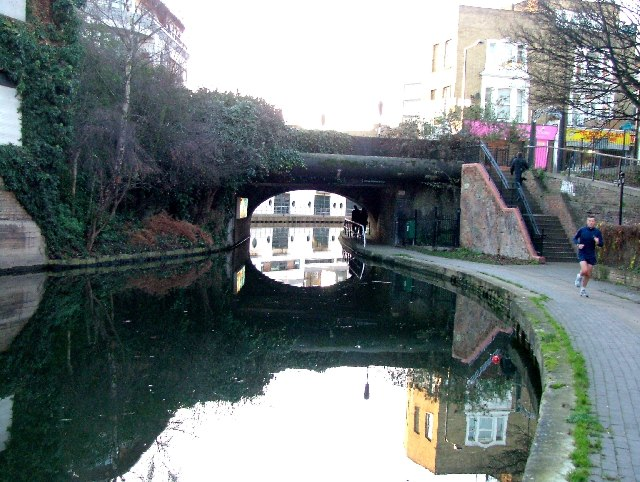 Royal College Street bridge over Regent's Canal.