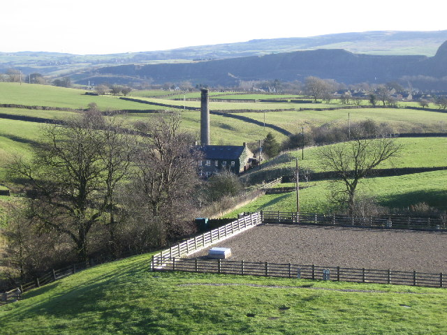 Chimney at Embsay Beck