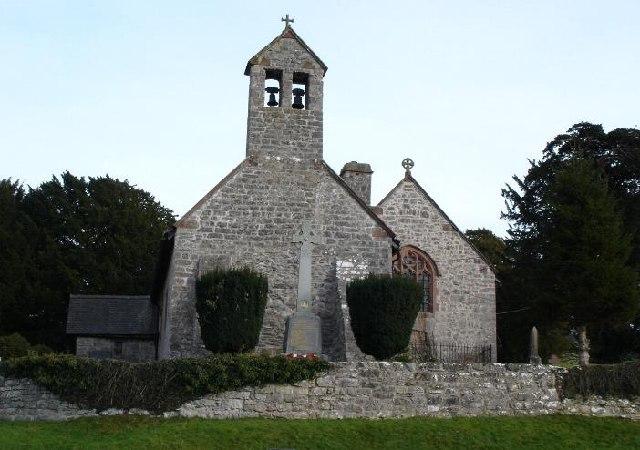 Llanelidan Parish church