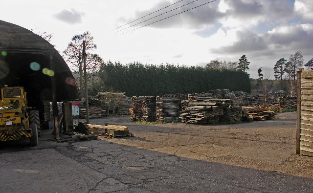 Timber Yard, Pyrton Hill