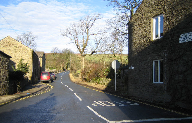 Kirk Lane at Green Bottom, Embsay