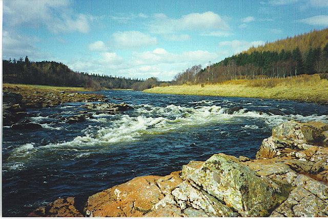 River Dee at Potarch.