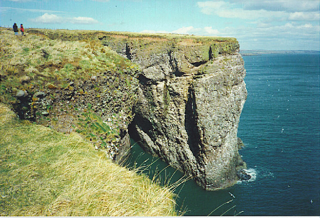 Cliffs and Waterfall, Henry's Scorth