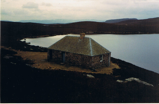 Fishing Hut at Loch Skiach