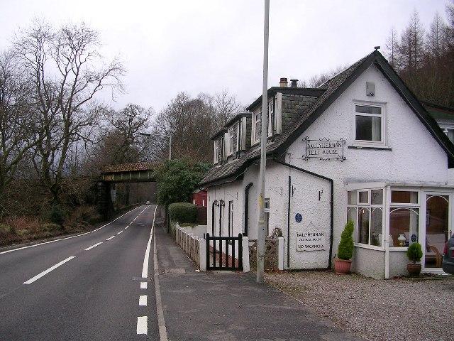 Ballyhennan Toll House plus Railway Bridge