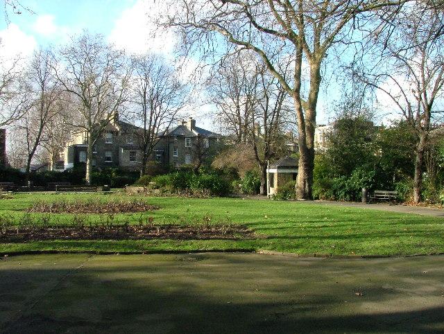 Gardens in Malvern Terrace