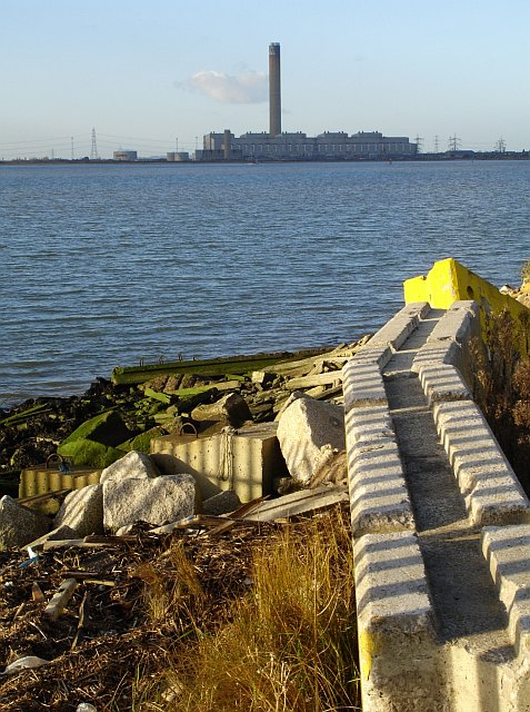 Grain Power Station from Queenborough