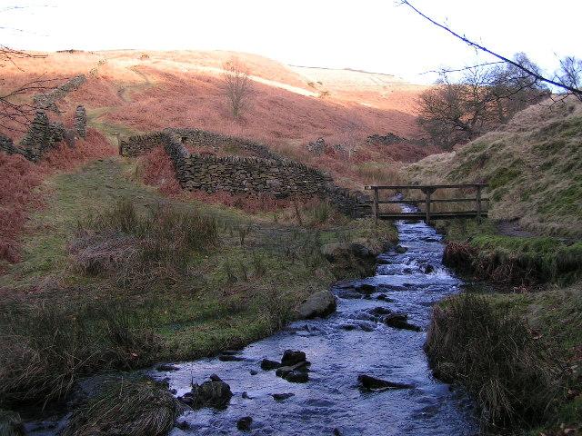 Stream crossing near Errwood Reservoir