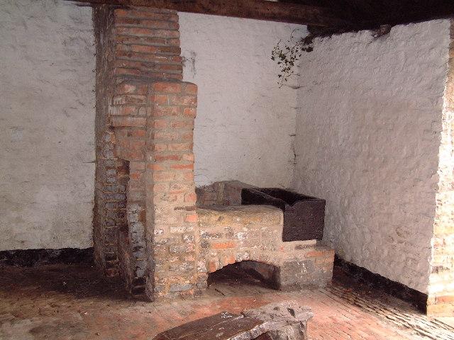 Inside Redbourne Smithy
