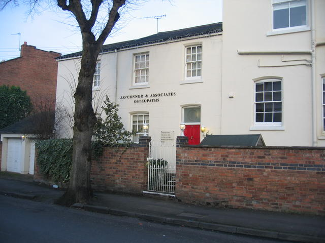 Osteopaths in Campion Terrace.