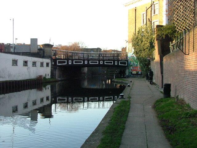 St Pancras Way bridge over Regent's Canal.