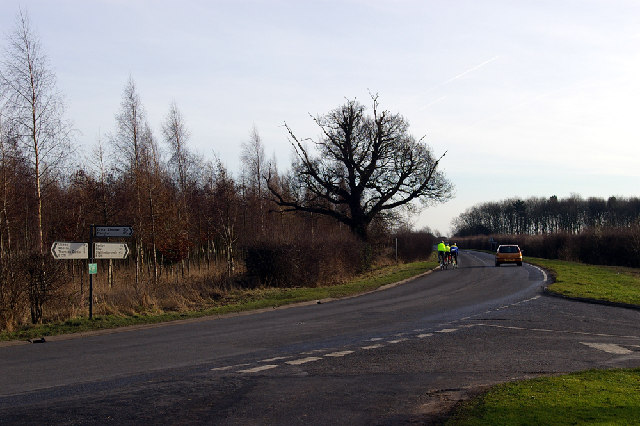 Road Junction on B1211 nr. Brocklesby