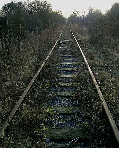Disused railway near Ashenhurst Ford
