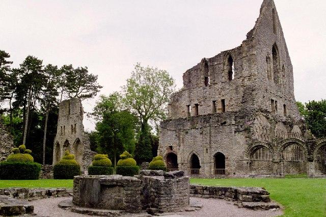 Wenlock Priory, Much Wenlock, Shropshire