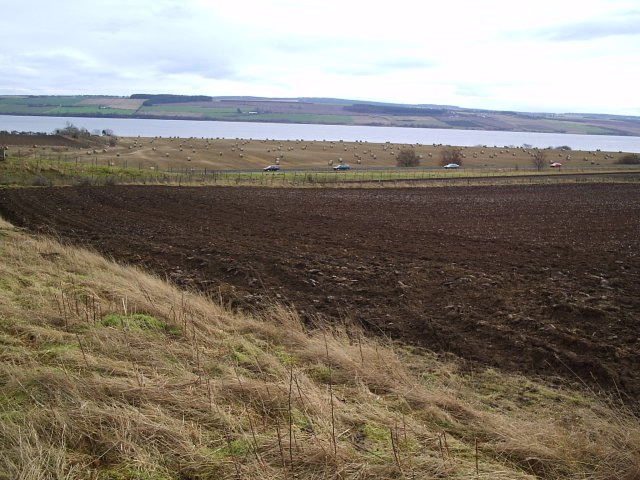 Looking South Over the A9 towards The Cromarty Firth