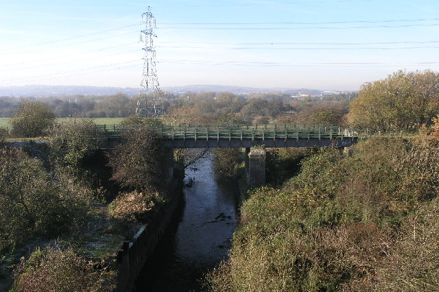 Great Central Railway Bridge Over River Rother