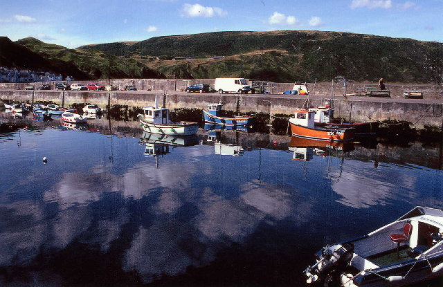 Harbour at Gardenstown