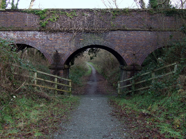 Bridge over old railway line
