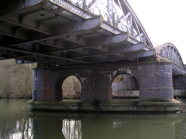Railway Bridge over the Thames near Abingdon