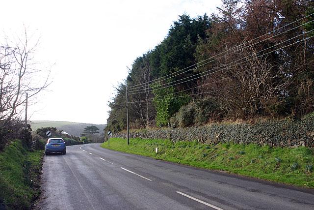 The A25 at Ballaveare