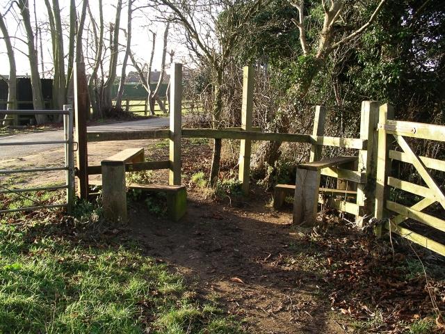 Stiles near Barrow Hills, Abingdon