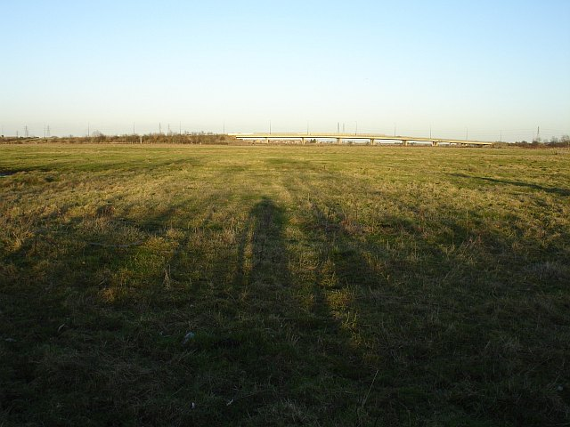 Pasture east of the B2007