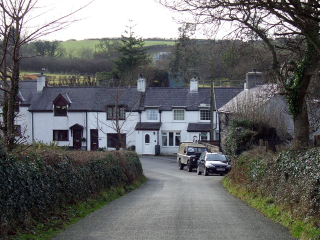 Cottages outside Caerhun