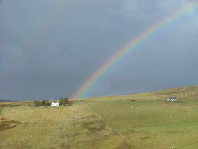 Rainbow in Glen Conon
