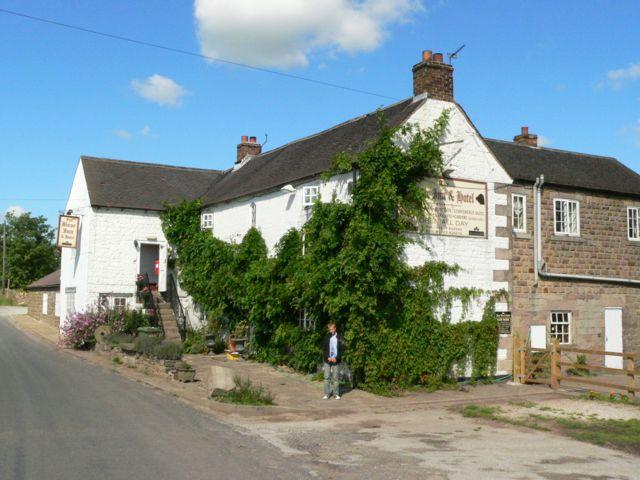 The Bear Inn, Nr. Alderwasley, Derbyshire.