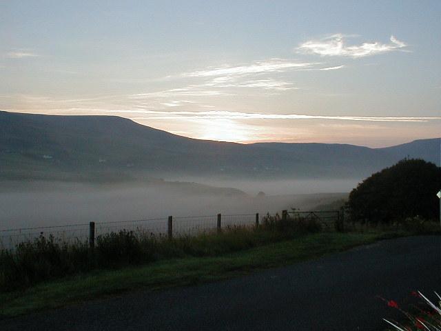 Sunrise over Glen Uig