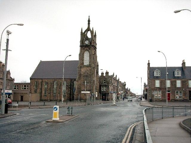 East Church Street Buckie