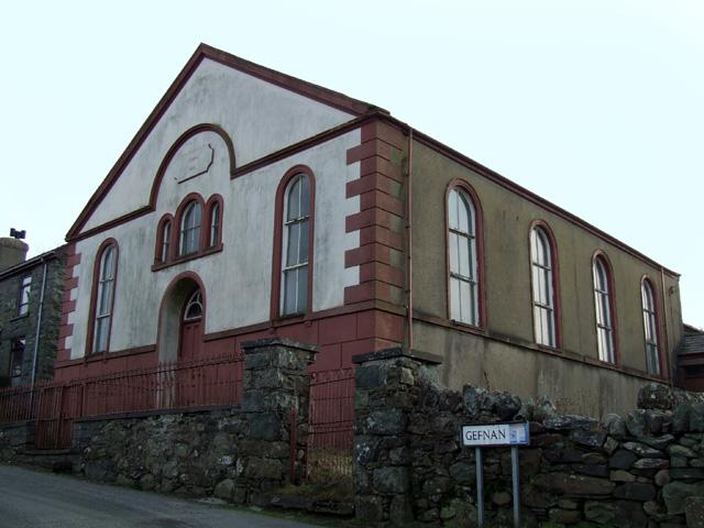 Chapel in Mynydd Llandegai