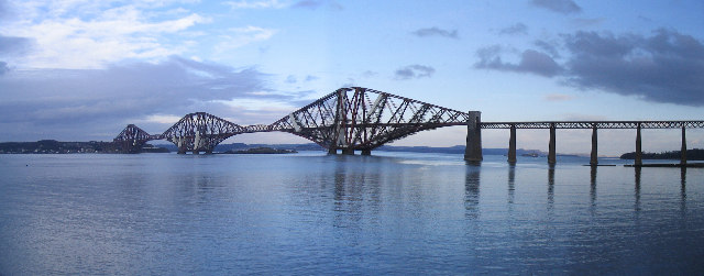 Forth Railway Bridge - Panoramic View
