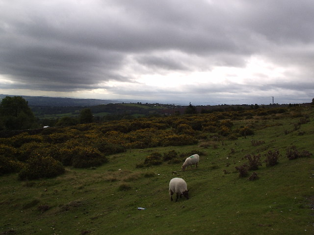 Rain Clouds Over Clee Hill