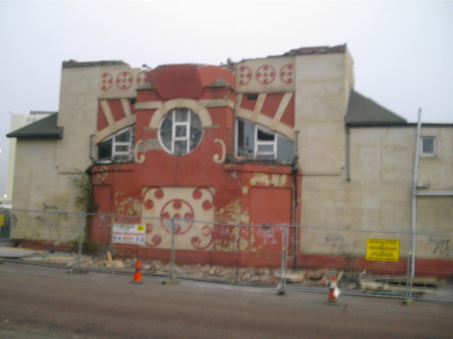 Black's Cinema Demolition