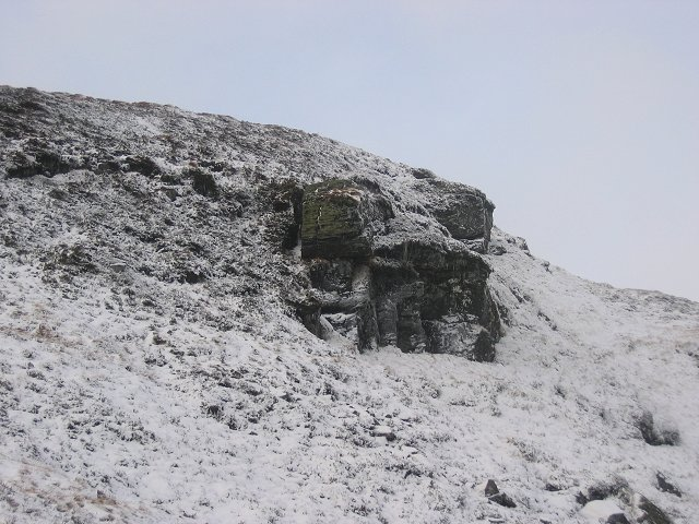 Crag, Meall Bhuidhe.