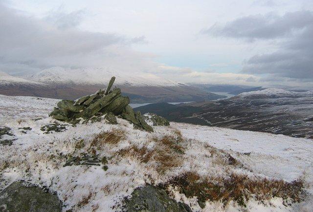 Summit, Beinn Leabhain